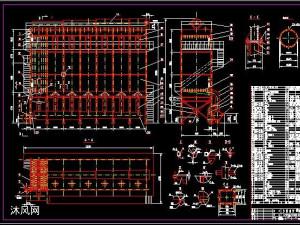 LFET 7X358立窯玻璃纖維反吹風袋式除塵器