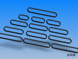 RBT2GT橡胶同步带 共13种型号