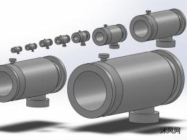 9款ZPG-Ⅰ自動排污過濾器模型.
