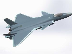 歼20战斗机SW模型