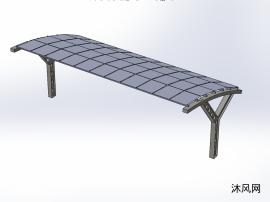 太阳能停车场