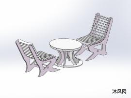 日常咖啡桌设计模型