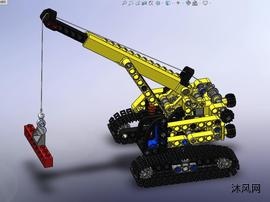 乐高吊车模型设计图