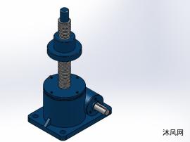 4款SWL2.5(2型升降机)蜗轮螺杆升降机