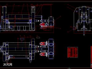 W11S-40×2500三辊卷板机图纸(cad套图)(263张图纸)