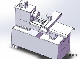 一款CK160臥式小數控車床模型