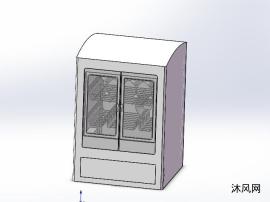 家用小型消毒柜设计模型