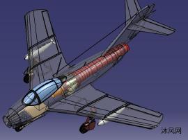 后掠翼喷气飞机