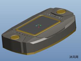 新款psp游戏机三维模型图纸