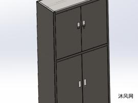 四鐵門文件柜