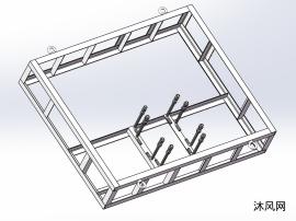六轴机械手角钢底座
