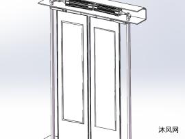 公交车门设计模型