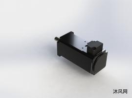 台达电机三维模型
