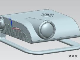 家用投影仪三维模型