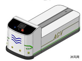 后牵引式AGV