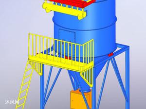 线路板钻孔机高压除尘器