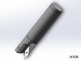 直径25双齿PAS铝用铣刀