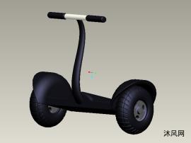 平衡车装配设计