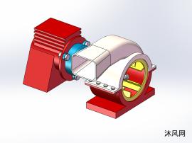 sw送风机设计模型