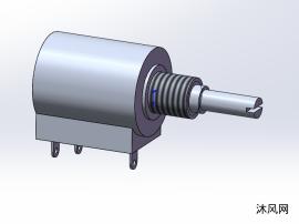 螺纹固定电位器