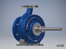 离心泵模型设计图纸