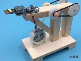 DIY手摇发电机