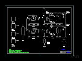 一套变压吸附制氮设备图纸