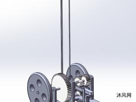 无碳小车SolidWorks2015