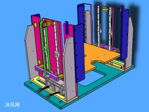 升降机构模型
