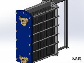 solidworks板式换热器