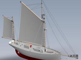 小型帆船船舶