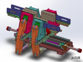 吹瓶机 吹塑机 移模与合模机构