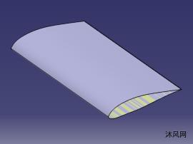 可横向组装的大展弦比机翼结构设计