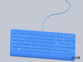 键盘模型3D
