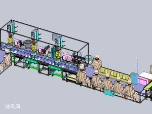 超声波焊接及检测包装机