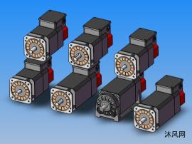 7款 发那科 models αiI-2,3 系列 主轴电机