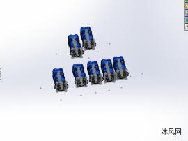 7款 HG22-01R-VSC(S型花键轴)齿轮泵