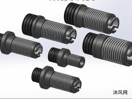 6款ZBXT螺纹安装螺母模型