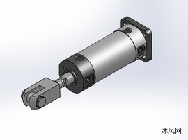 5款輕巧型氣缸KCG1 帶導桿氣缸