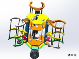 競賽機器人3維圖