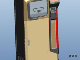 proe智能垃圾桶三维模型图纸