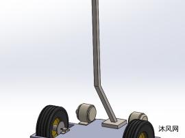 两轮平衡机器人,两轮平衡车模型设计图