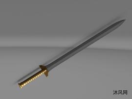 古代宝剑模型