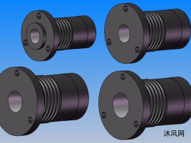 VHDF法兰安装螺母 共4种型号