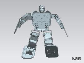 霸气魁梧的机器人模型