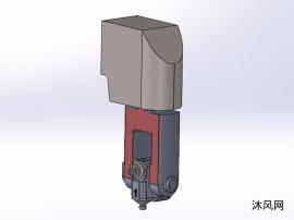 立式可转位车刀模型
