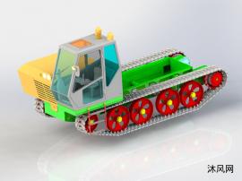 履带式拖拉机设计