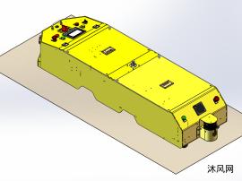 单驱潜入式搬运AGV