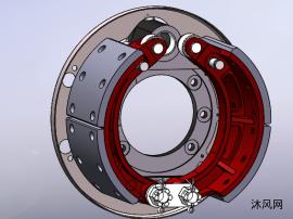 3D模型汽车制动器