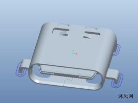 USB连接器模型
